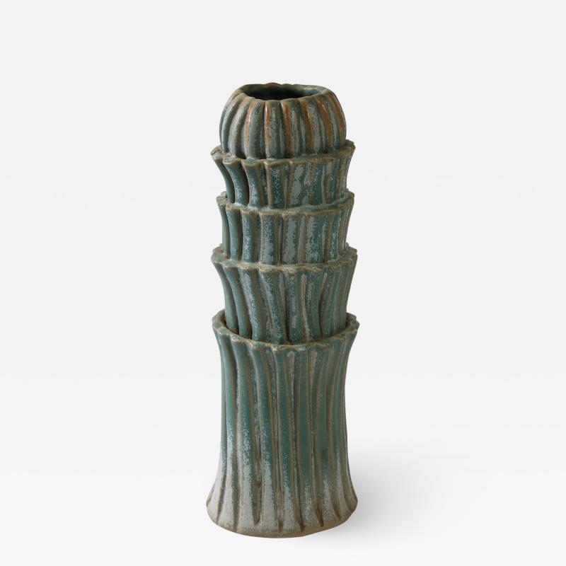 Robbie Heidinger Fluted Vase 2 by Robbie Heidinger