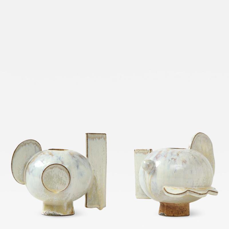 Robbie Heidinger Pair of Twyla Vases by Robbie Heidinger