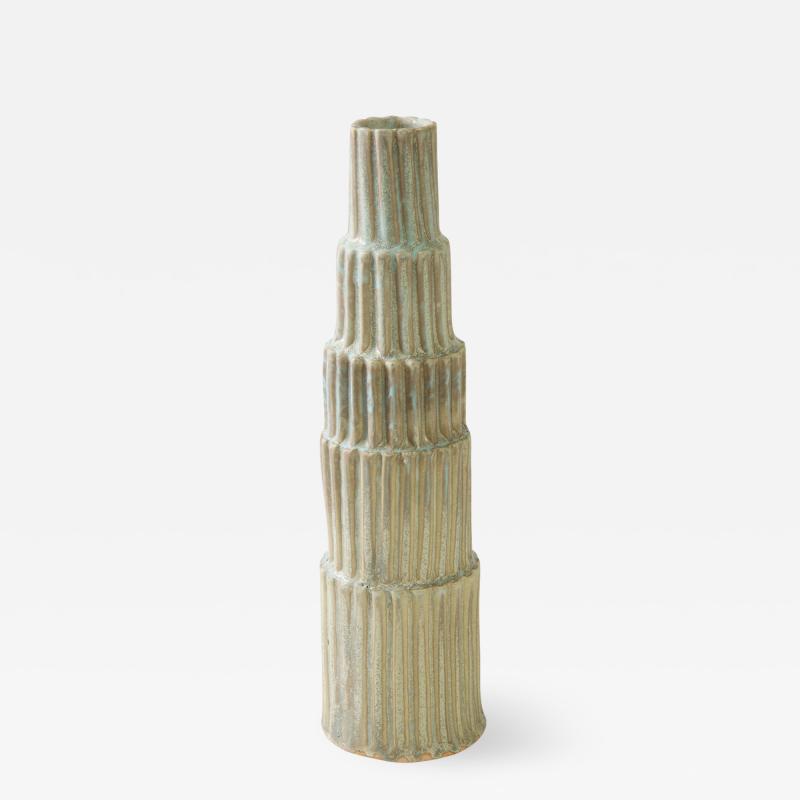 Robbie Heidinger Stack Vase 2 by Robbie Heidinger
