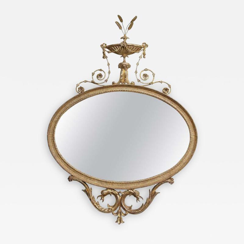Robert Adam Adam Period Giltwood Mirror