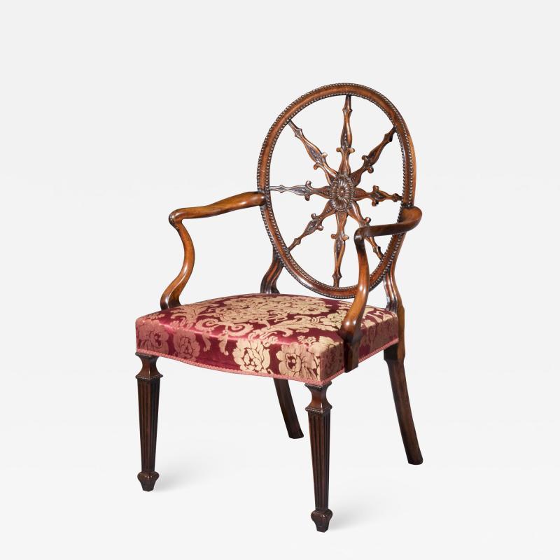 Robert Adam Antique Georgian Neoclassical Armchair