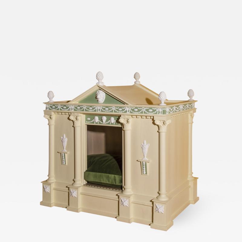 Robert Adam Large Neoclassical Dog House in the Manner of Robert Adam