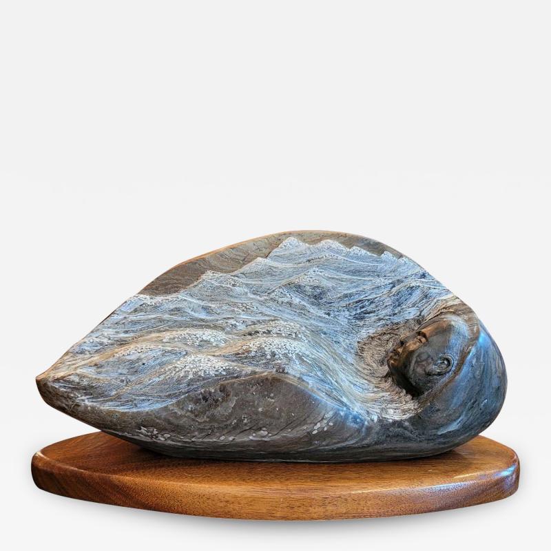 Robert Dale Tsosie Sleepy Mountains Sculpture by RD Tsosie