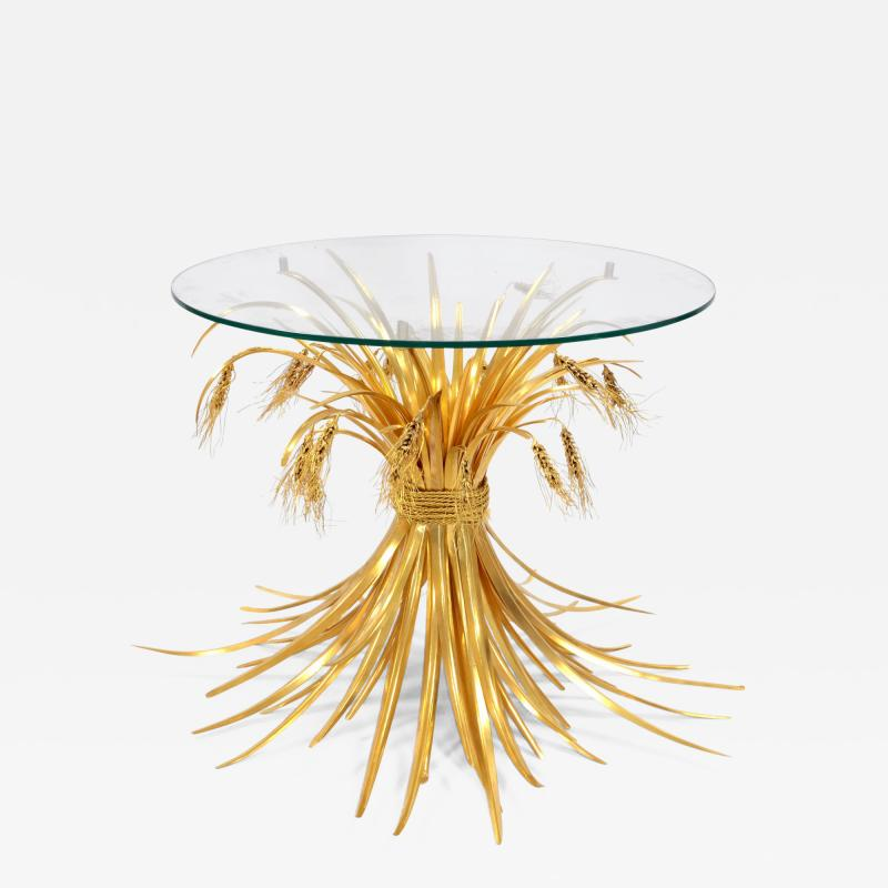 Robert Goossens Rye table in gilded bronze and brass by Robert Goossens 1927 2016