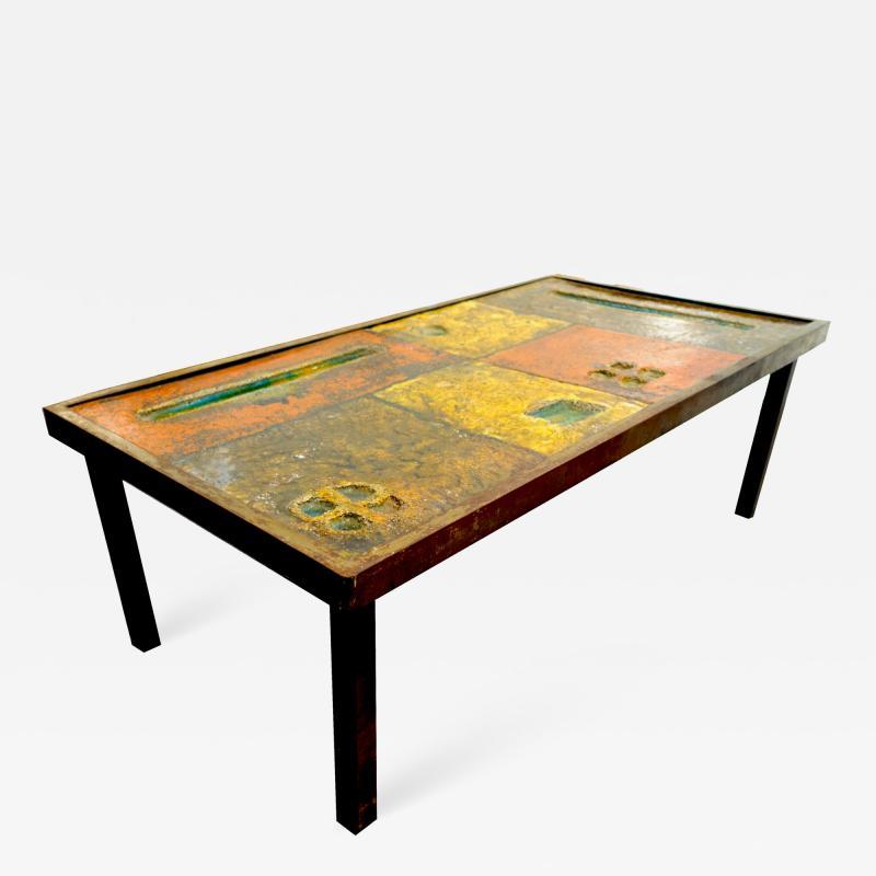 Robert Jean Cloutier Ceramic Coffee Table