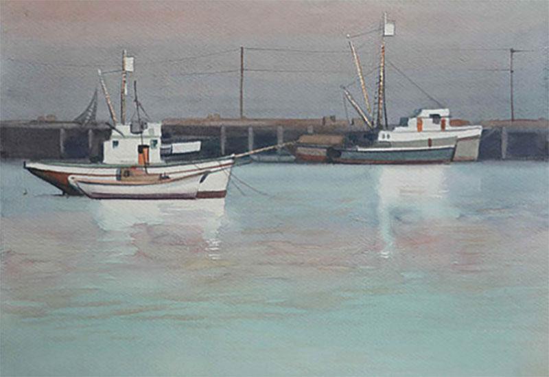 Robert Joseph McIntosh San Pedro Harbor