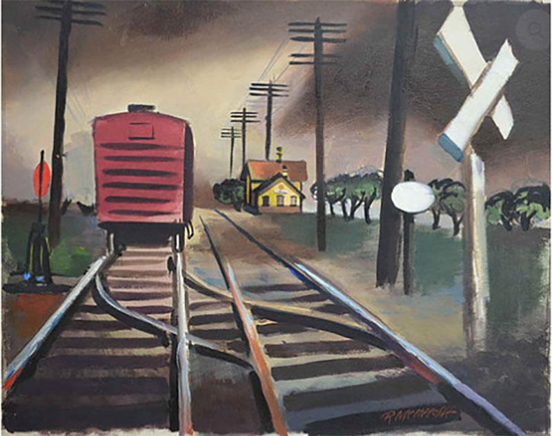 Robert Joseph McIntosh The Red Boxcar