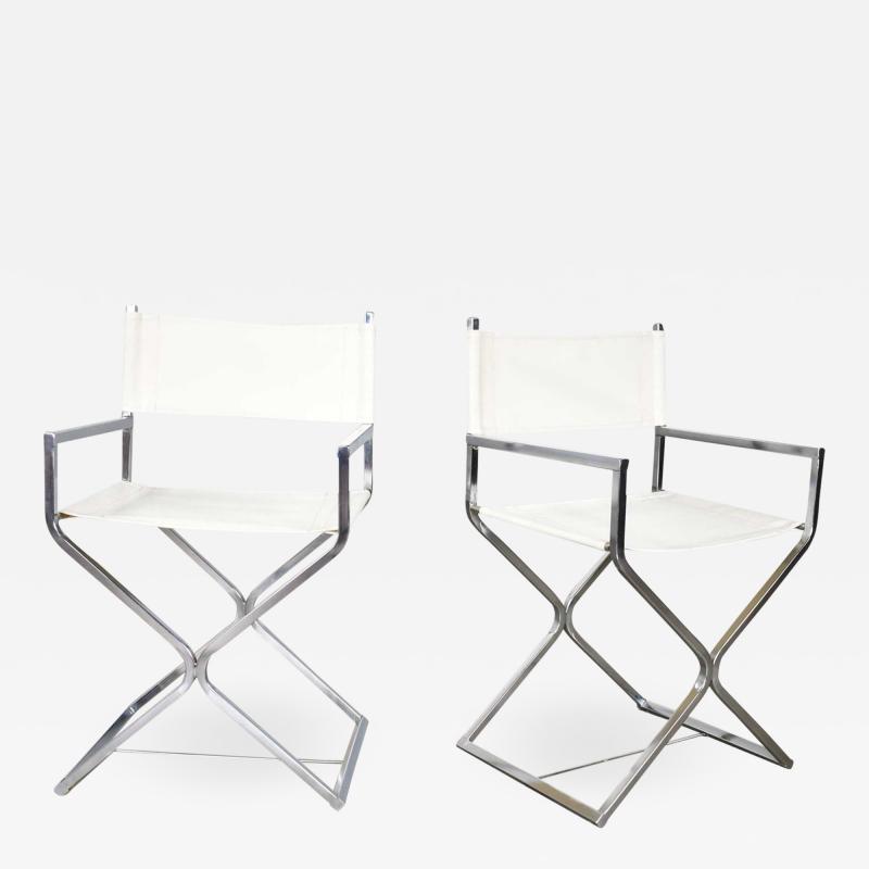 Robert Kjer Jakobsen MCM campaign style directors chairs white chrome