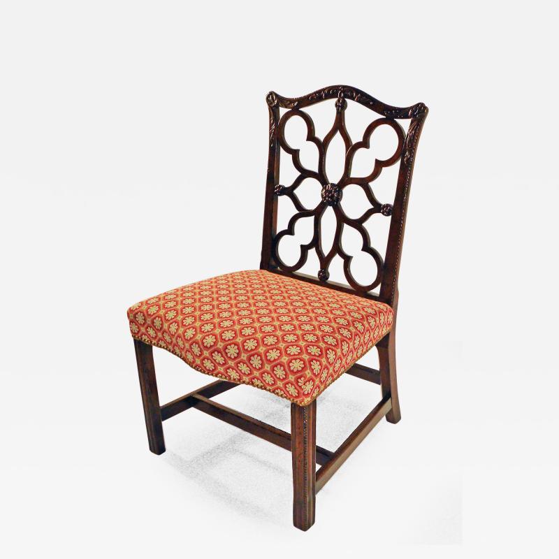 Robert Manwaring A George III Mahogany Side Chair