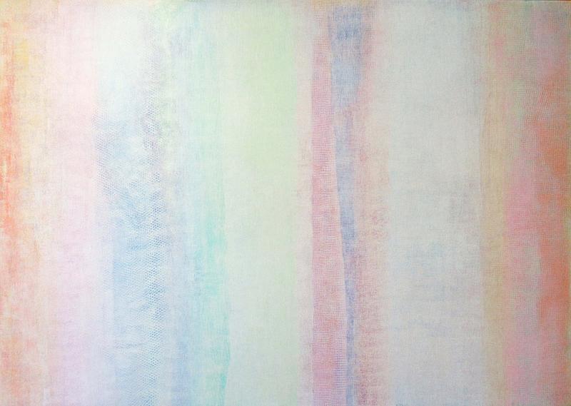 Robert Natkin Robert Natkin Abstract Acrylic on Canvas Untitled Bath Apollo Series 1977