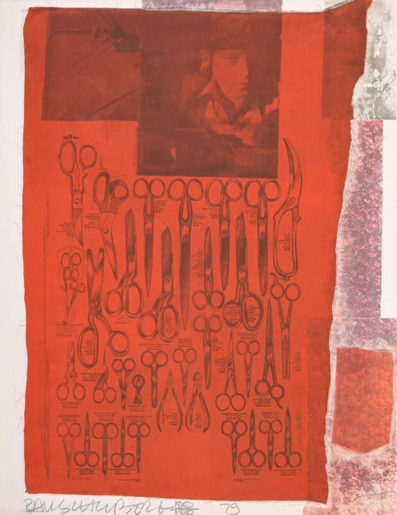 Robert Rauschenberg Robert Rauschenberg More Distant Screenprint
