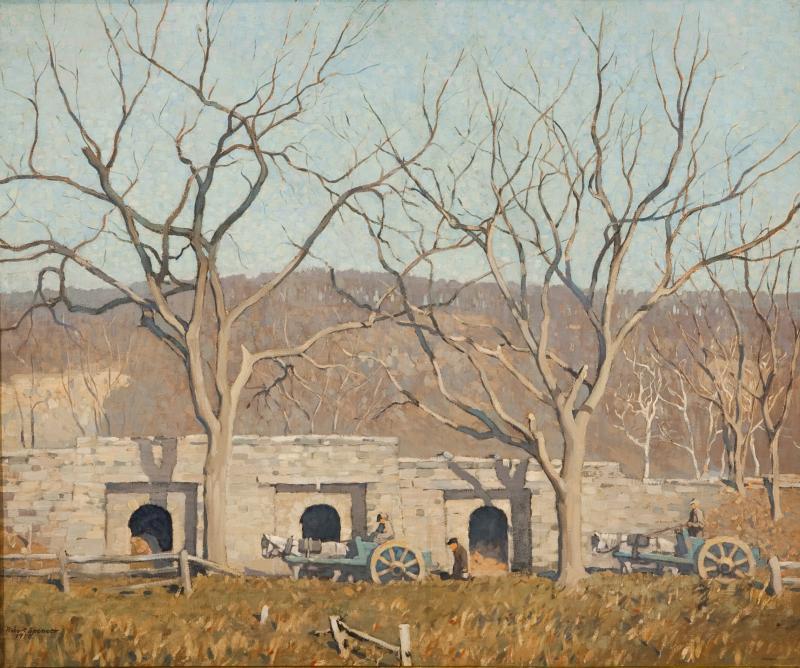 Robert Spencer Lime Kilns Point Pleasant
