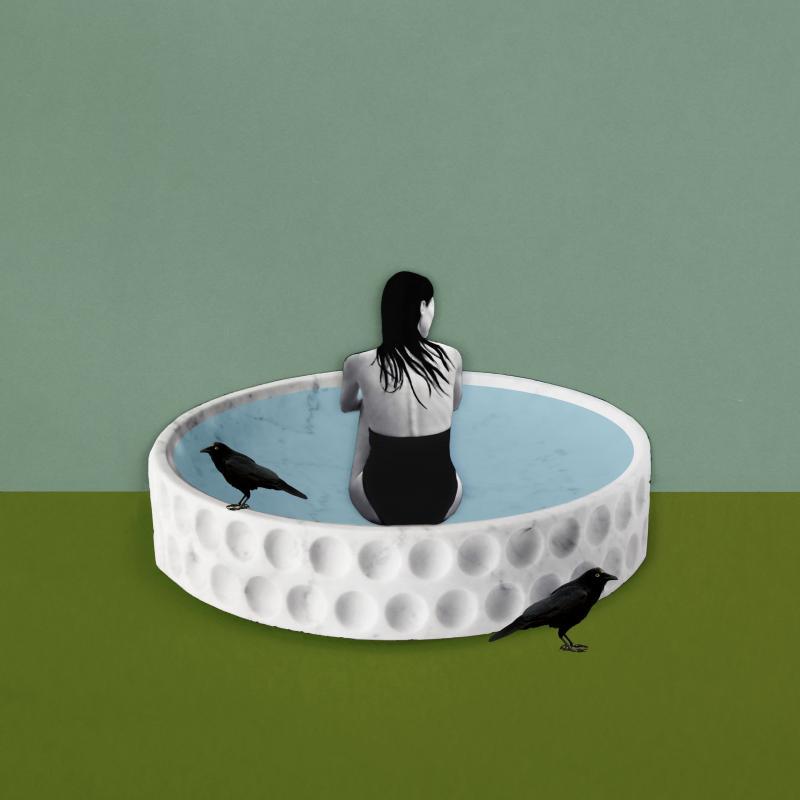 Roberta E Brambilla Mirage Centerpiece Collage 3