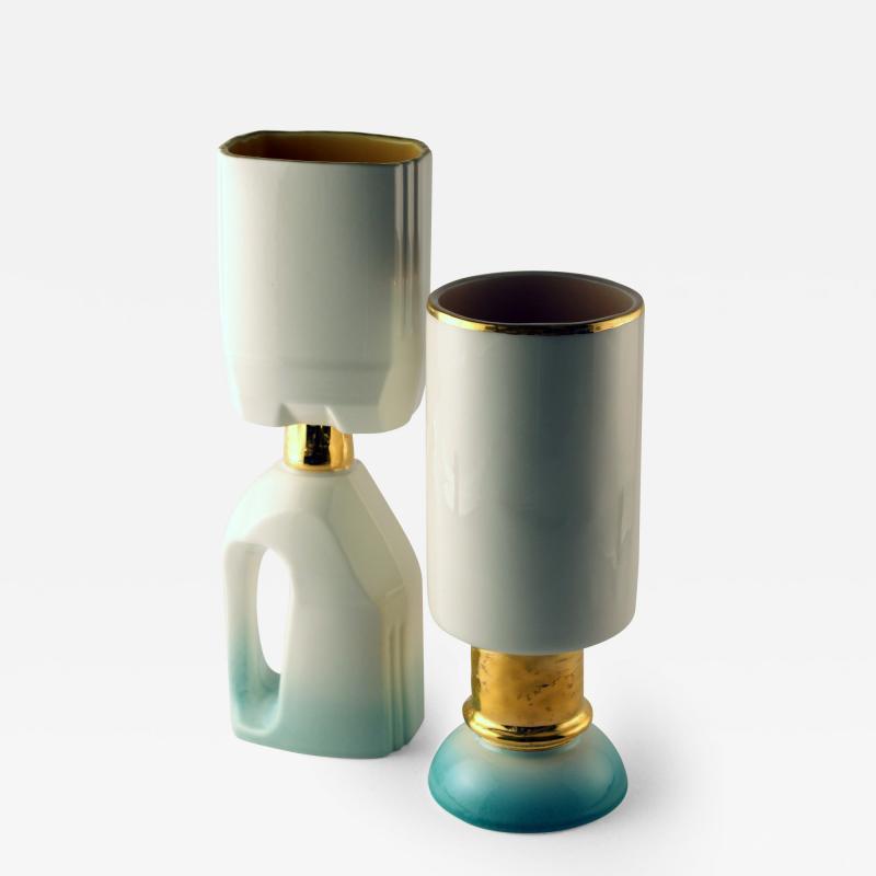 Roberto Cambi Series of Clochard ceramics