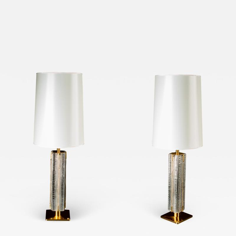 Roberto Giulio Rida Pair of Table Lamps