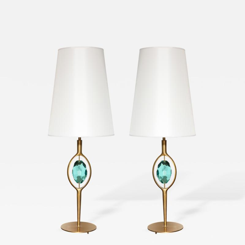 Roberto Giulio Rida Paur of Gemmine Table Lamps by Roberto Giulio Rida