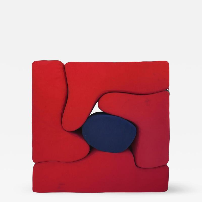 Roberto Matta Roberto Matta Malitte Lounge Furniture Knoll Modular 5 Piece Set 1966