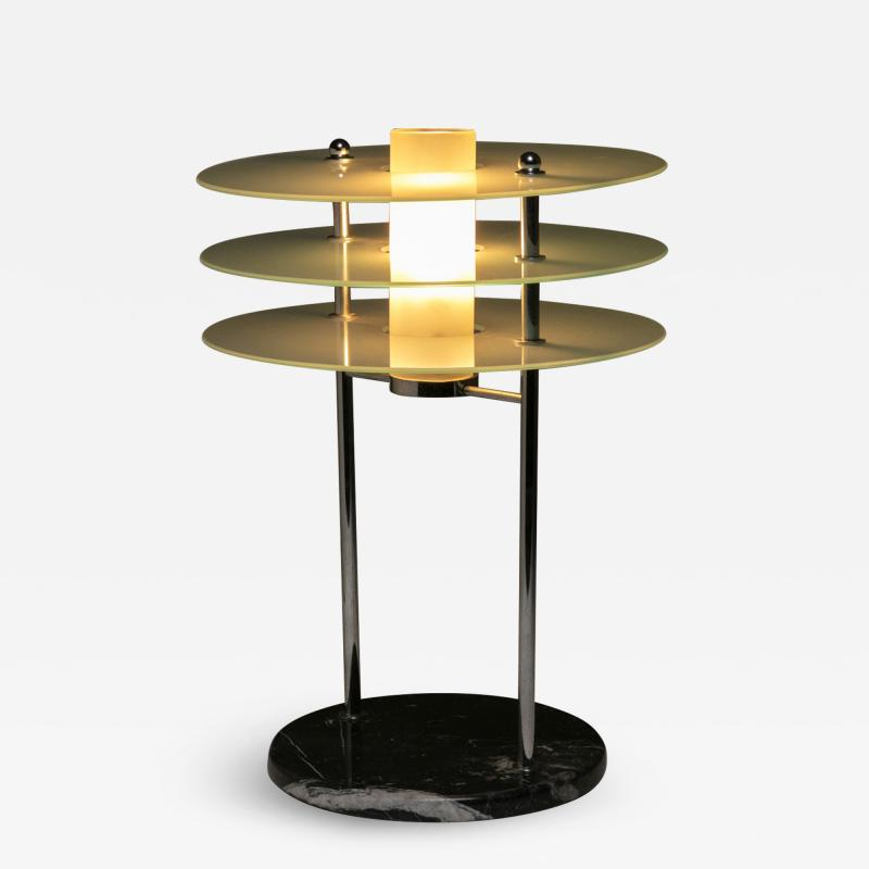 Roberto Volonterio Libra Table Lamp by Volonterio and Benedetti for Quattrifolio