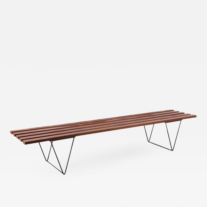 Robin Day Robin Day Slate Bench for Hille UK 1950