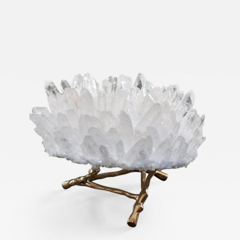Rock Crystal Sculpture