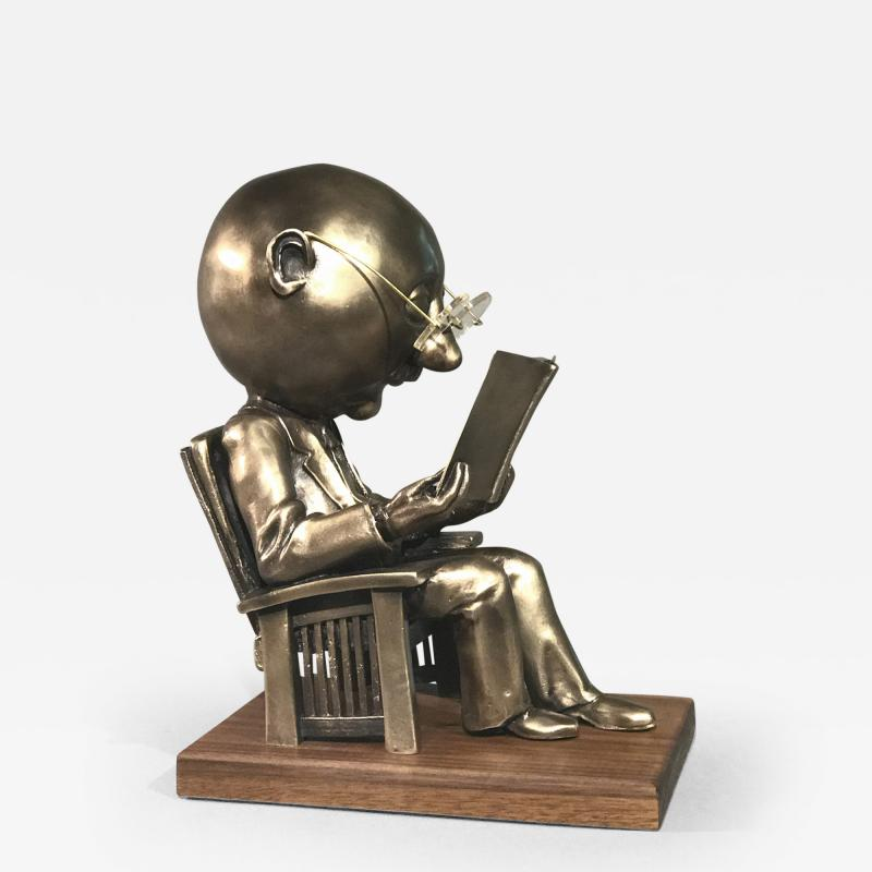 Rodger Jacobsen The Reader maquette