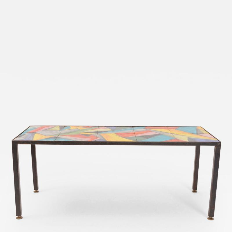 Roger Capron Abstract Coffee Table by Roger Capron c 1955