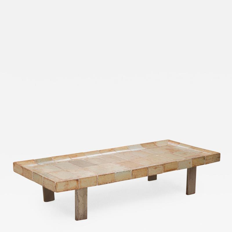 Roger Capron Ceramic Tiled Coffee Table