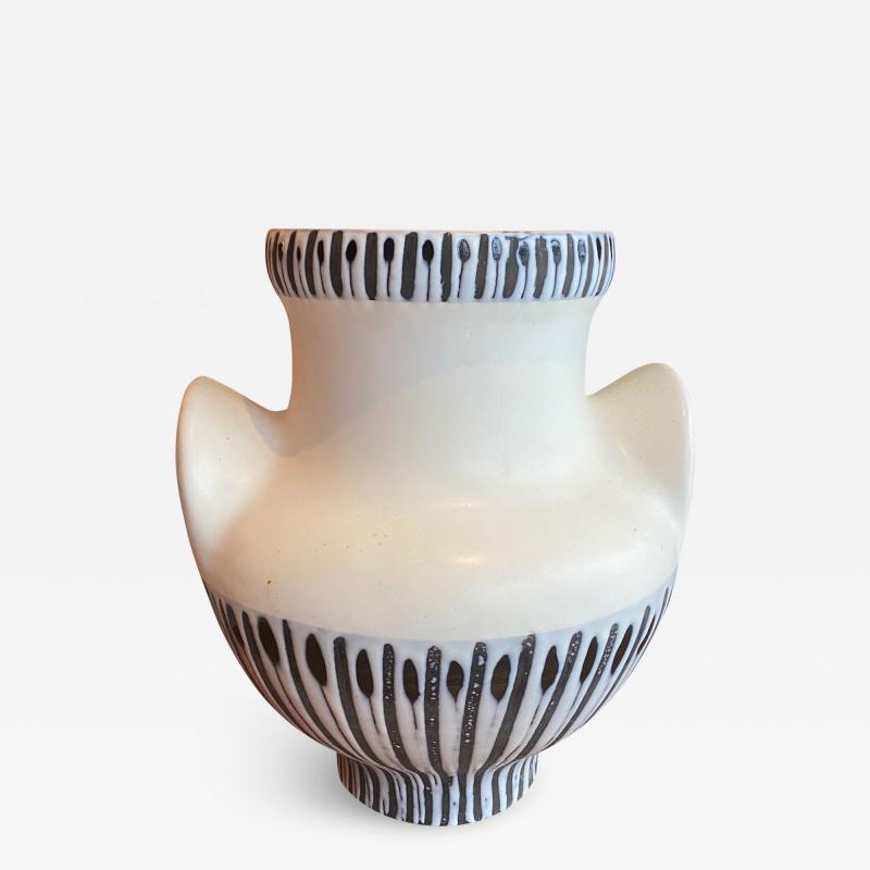 Roger Capron Large Ceramic Vase France 1950s
