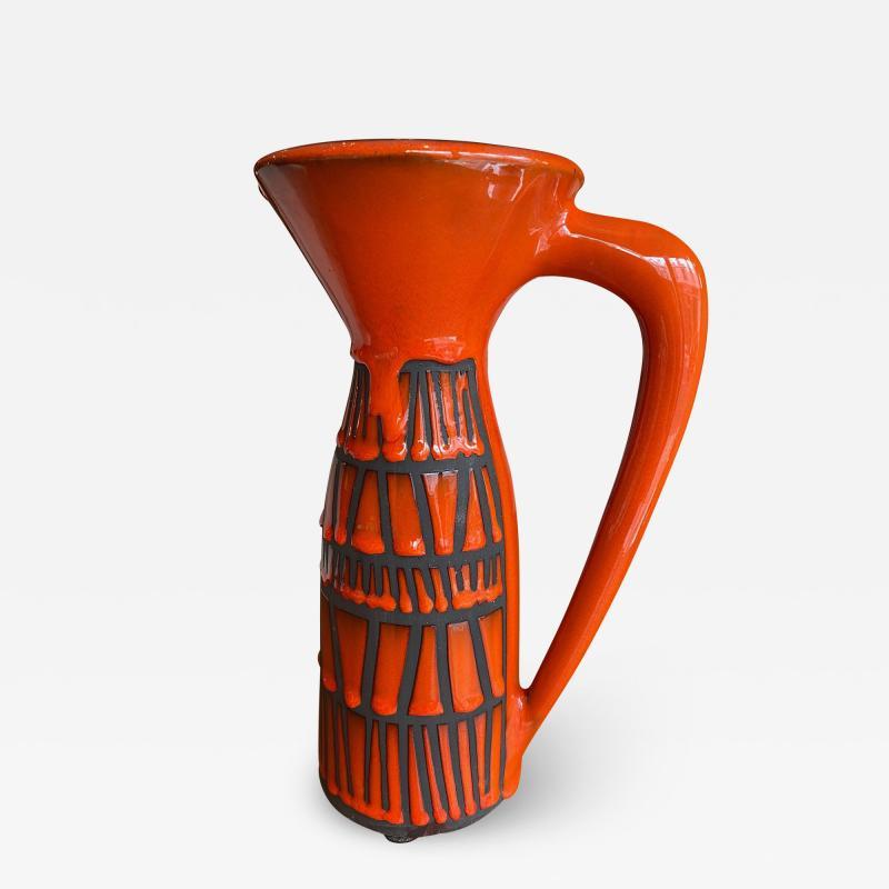 Roger Capron Pitcher Vase France 1960s