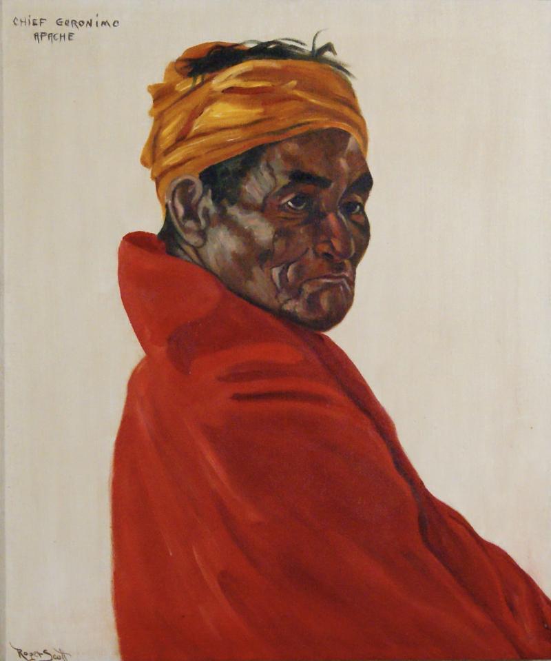 Roger Scott aka Duster Bortell Chief Geronimo