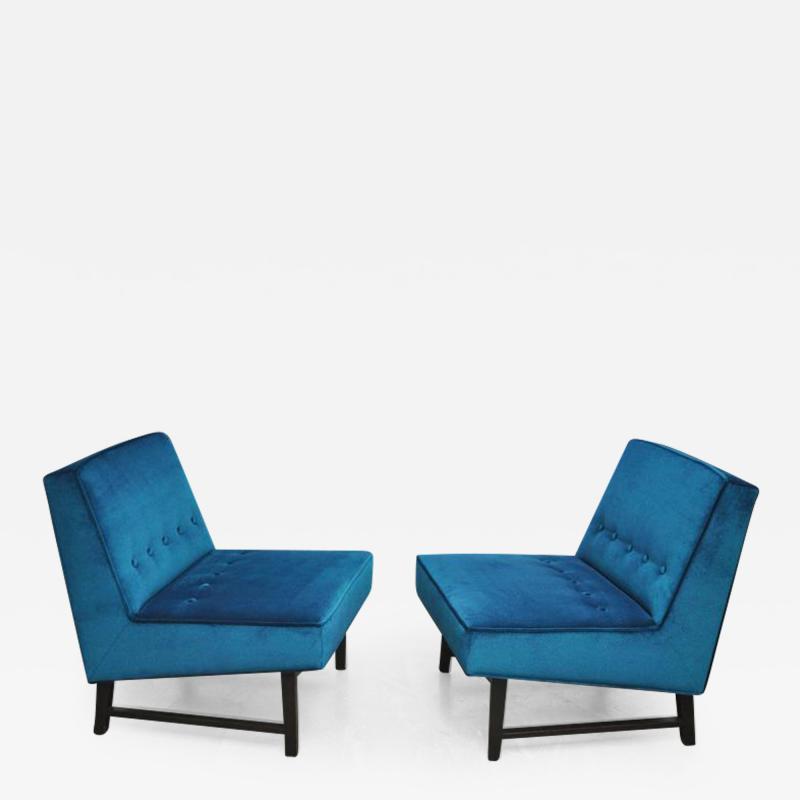 Roger Sprunger Dunbar Angular Slipper Chairs