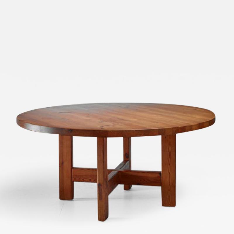 Roland Wilhelmsson Roland Wilhelmsson Pine Table Sweden 1960s