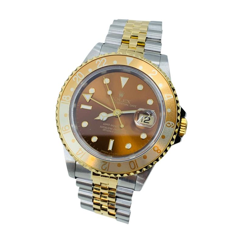 Rolex Brown Dial GMT