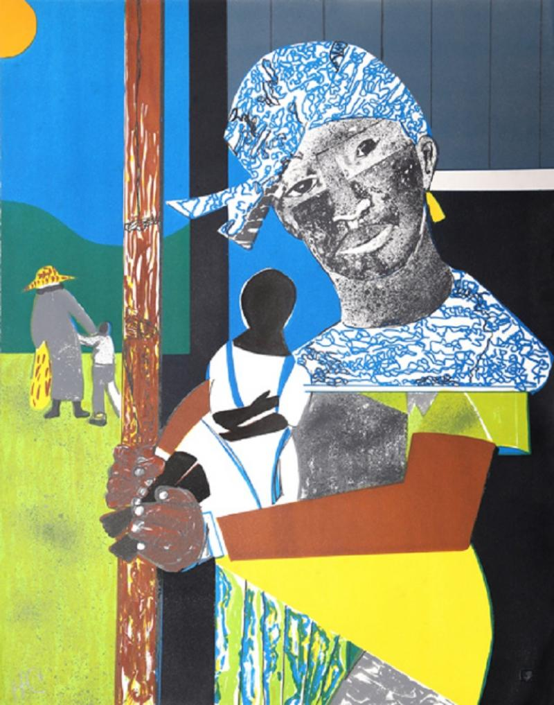 Romare H Bearden Come Sunday Mother and Child