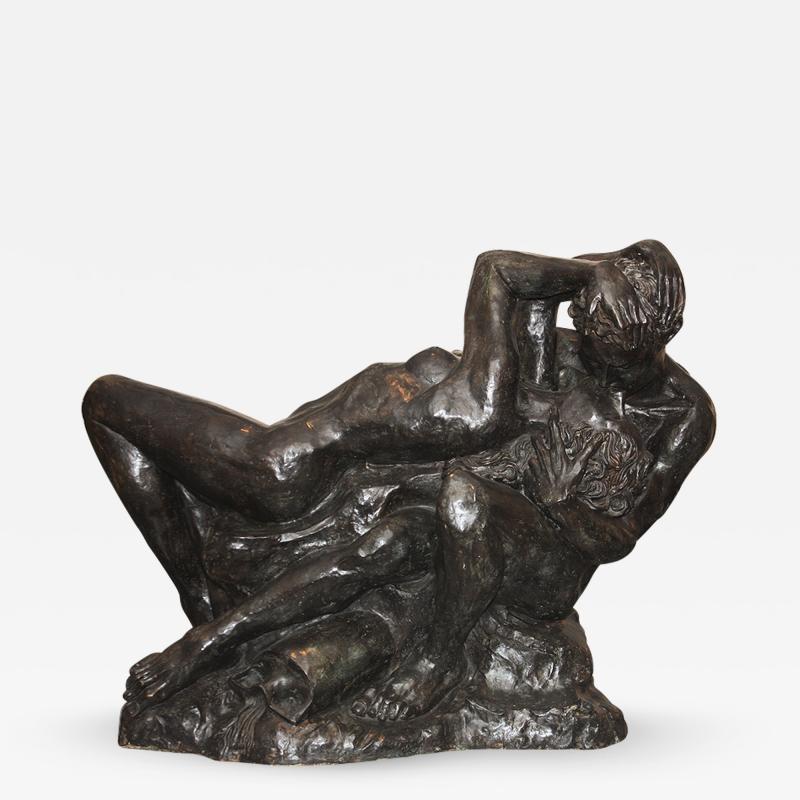 Romeo Juliet Very Impressive Bronze Sculpture