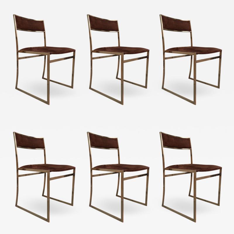 Romeo Rega A set of six chairs by Romeo Rega Italy 70