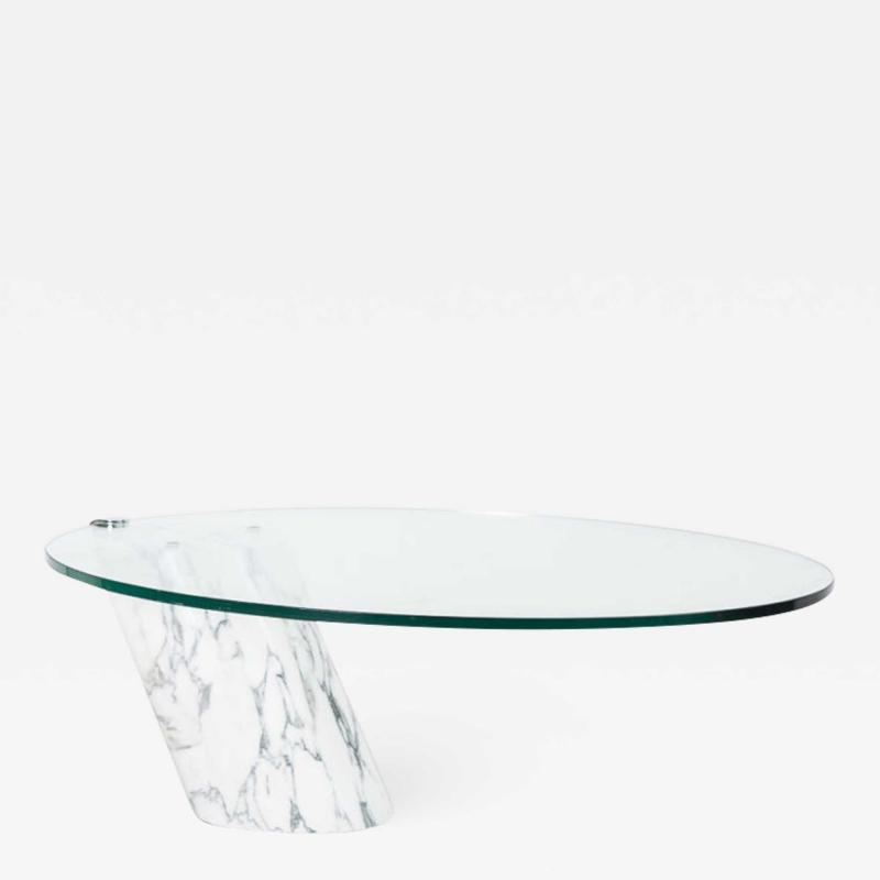 Ronald Schmitt Carrera Marble Coffee Table K1000 Ronald Schmitt Switzerland 1971