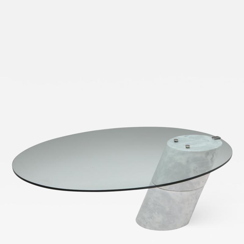 Ronald Schmitt Postmodern Marble Coffee Table by Ronald Schmitt 1980s