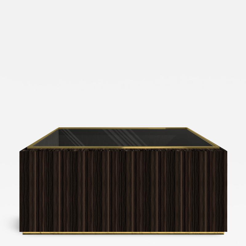 Roric Tobin Designs Coffee Table with Glass Top