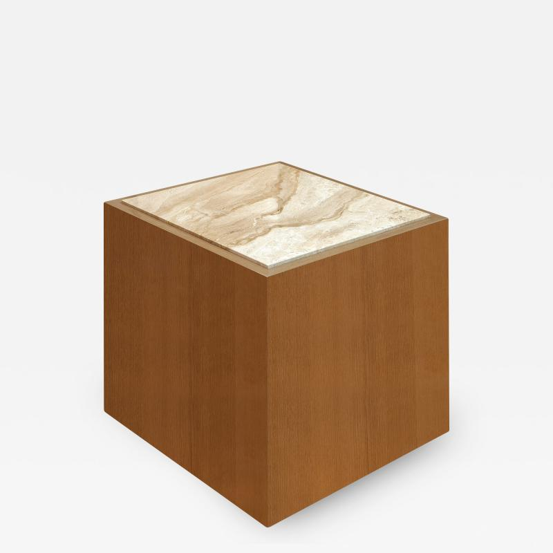 Roric Tobin Designs Side Table with Marble Top