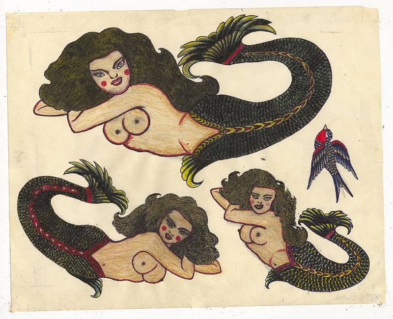 Rosie Camanga Untitled Three Mermaids