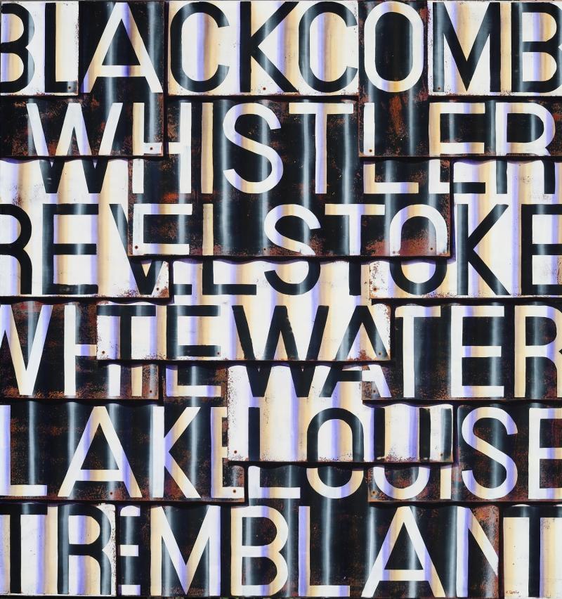 Ross Tamlin Whistler Lake Louise Grey