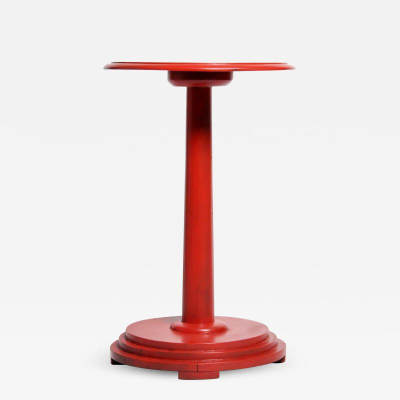 Round Teak Wood Stand