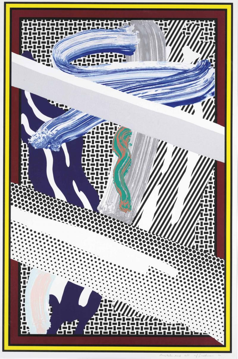 Roy Lichtenstein Reflections On Expressionist Painting