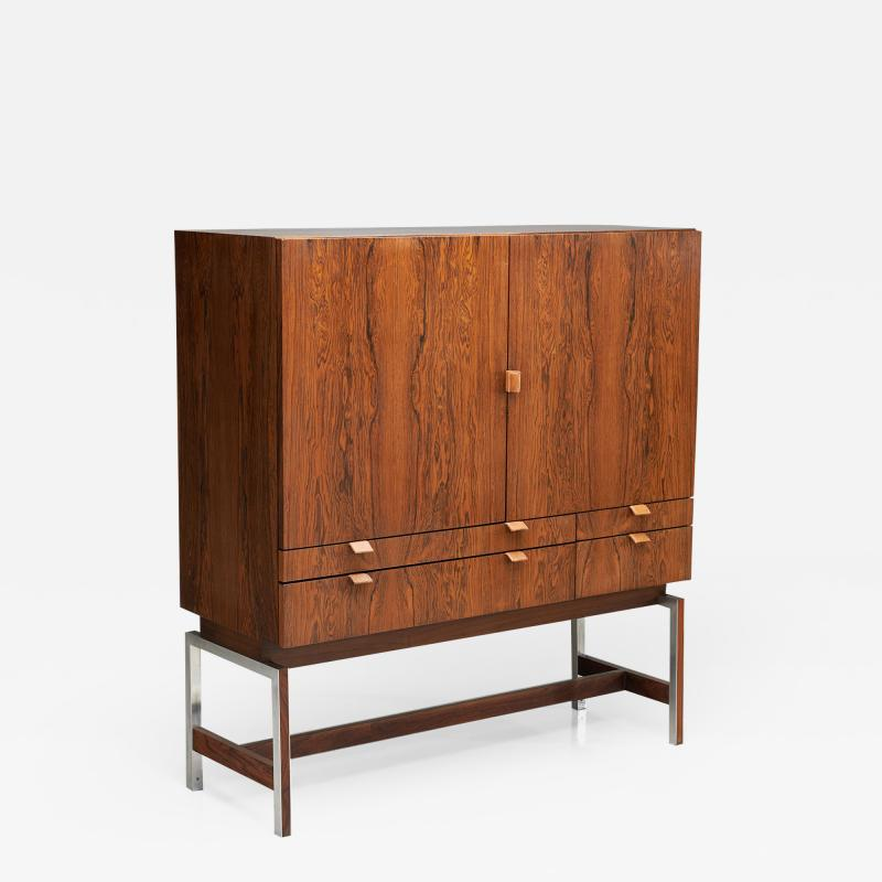 Rudolf Bernd Glatzel Rudolf Bernd Glatzel attr High Bar Cabinet for Fristho The Netherlands 1960s