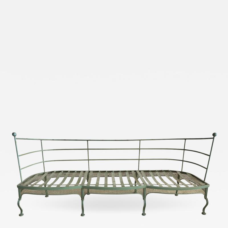 Russell Woodard Woodard Furniture Midcentury Garden Sofa by Woodard
