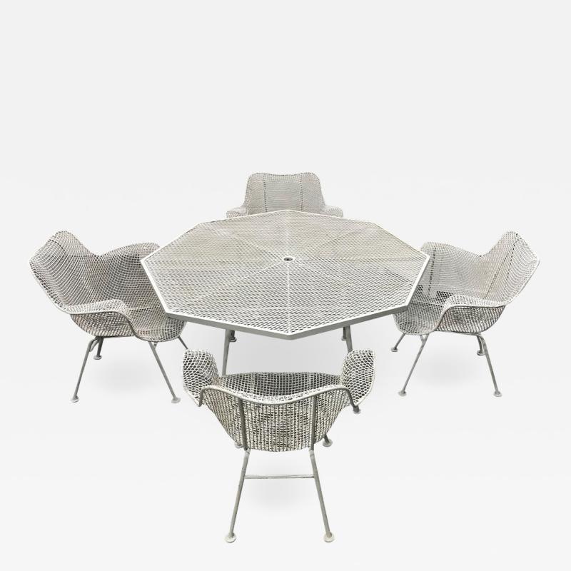 Russell Woodard Woodard Furniture Russell Woodard Sculptura Patio Set