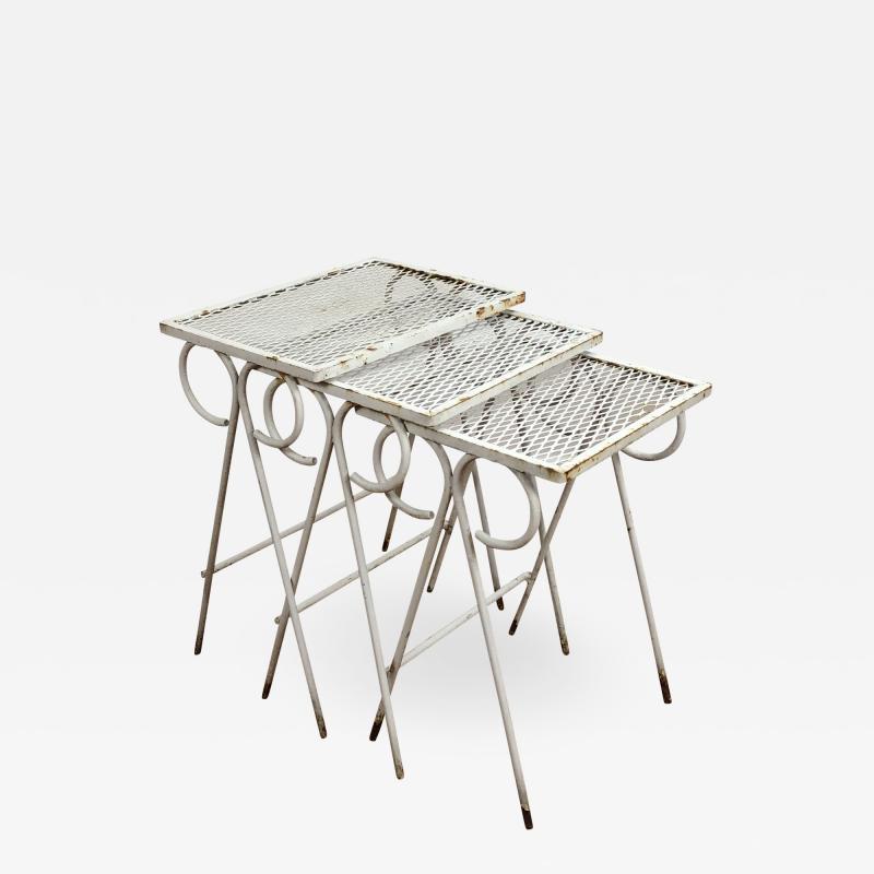 Russell Woodard Woodard Furniture Woodard Sculptura low table set