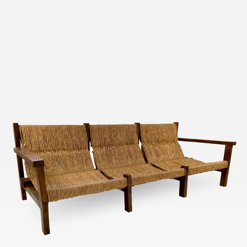 Rustic Sofa circa 1970 Spain