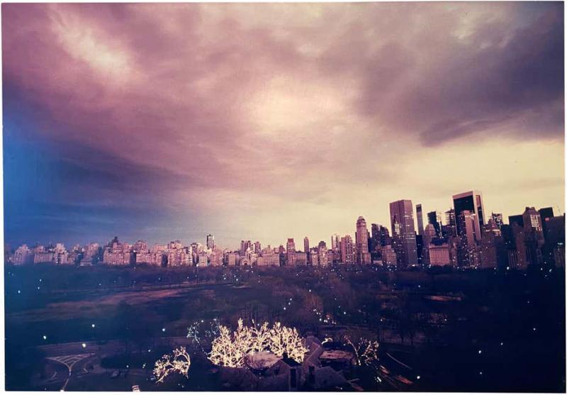 Ruth Orkin Pink Sky by Ruth Orkin